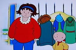 caillou mommy one
